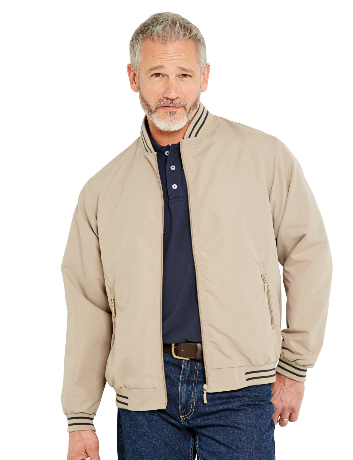 Mens Classic Harrington Jacket Coat