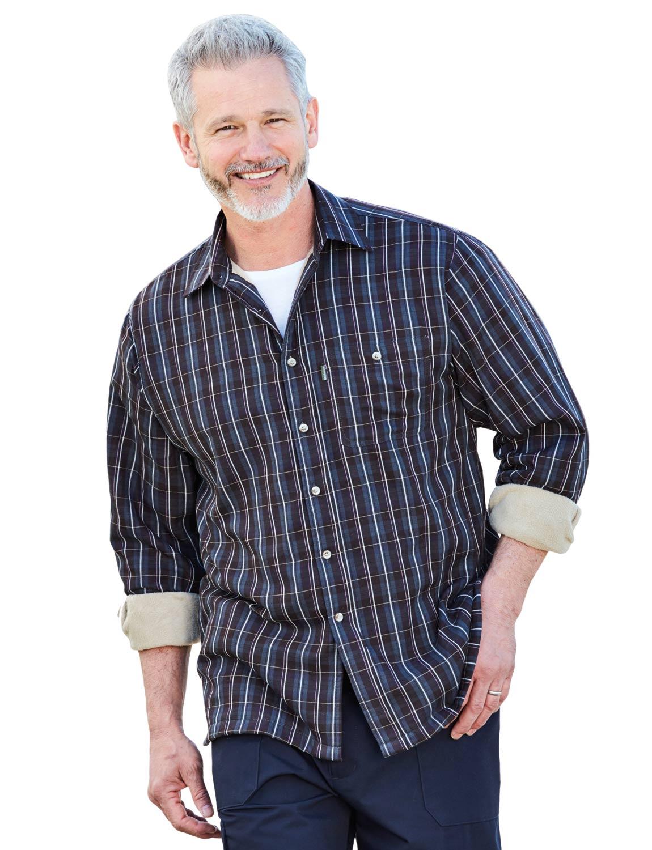 Mens Champion Fleece Lined Shirt Ebay