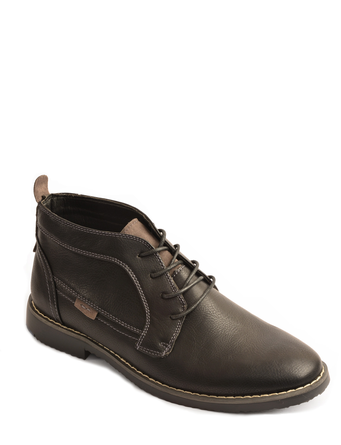 mens comfortable sturdy lace up boot ebay
