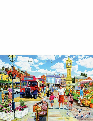 A Trip To The Shops Boxed Set Of 4 x 500Pc Jigsaw Puzzles