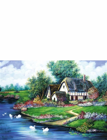 Boxed Set Of 4 x 500Pc Time Of the Year Jigsaw Puzzles