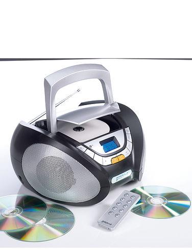 Groov-E Portable Radio/CD Player
