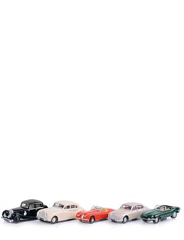 Classic Jaguars - Set of 5