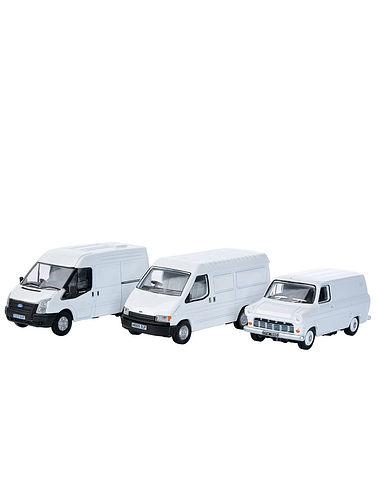 Set of 3 Ford Transit Vans