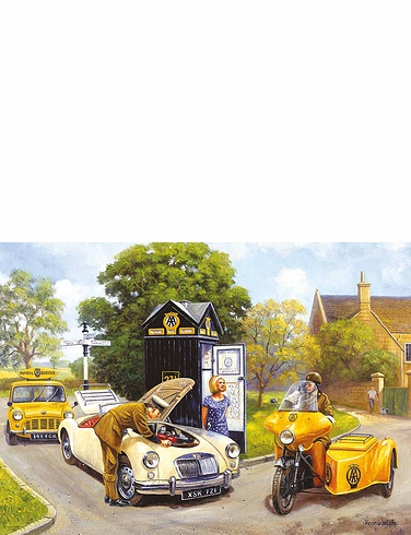 Gibsons' Knights Of The Road 500Pc Jigsaw Set Of 2