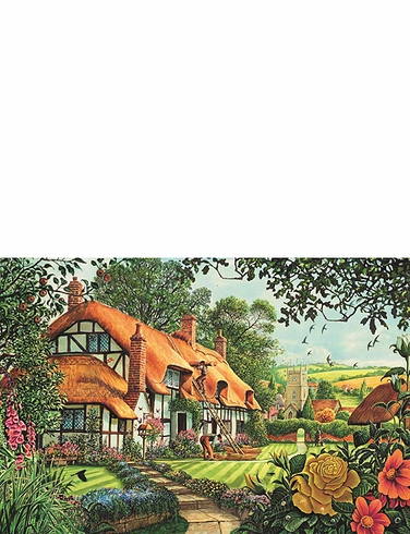 1500pc Jigsaw Thatchers Cottage