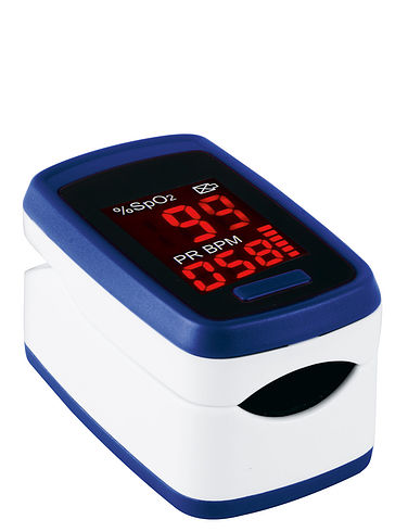 First Aid Fingertip Pulse Oximeter.