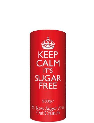 200g Keep Calm SUGAR FREE Oat Biscuits