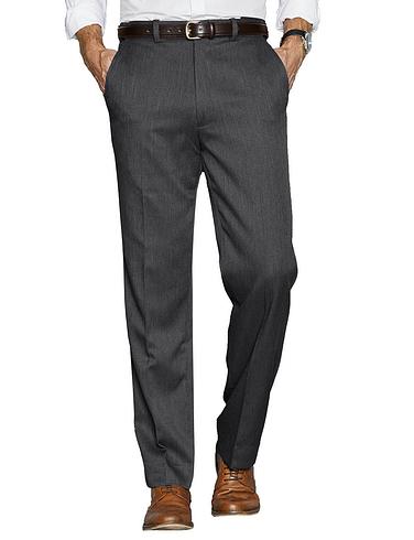 High Waist Warm Lined Smart Trouser