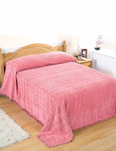 Duvets, Blankets & Bedspreads Classic Luxury Candlewick Bedspread by Diana Cowpe