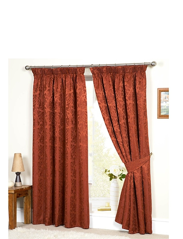 Duvets, Blankets & Bedspreads Lana Lined Jacquard Curtains
