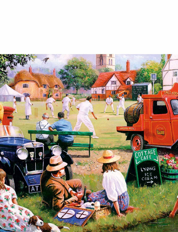 Village verde 4 X 1000 Piece Jigsaw   acquista marca