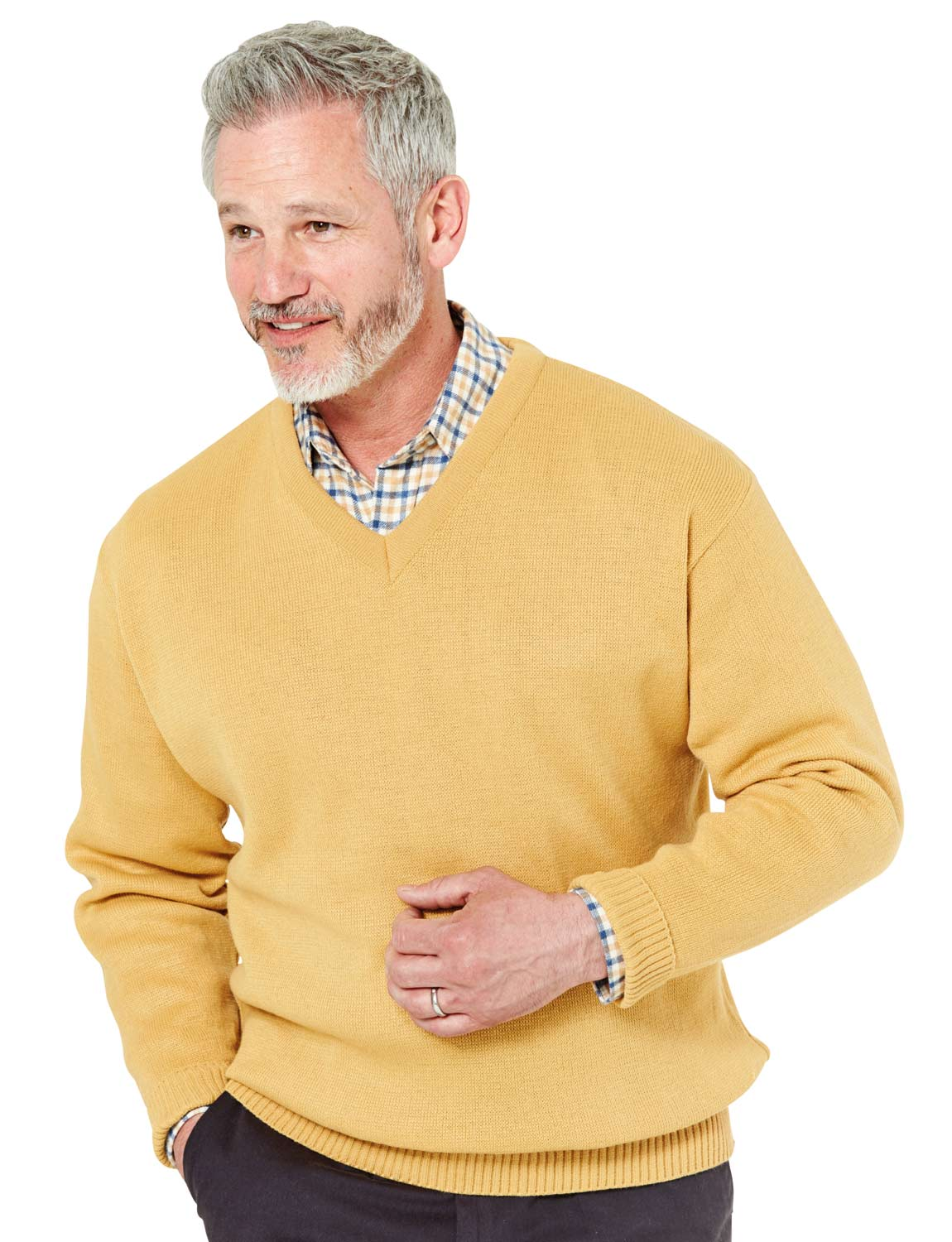 68ee62b1c36 Mens Chums Fine Gauge V Neck Sweater Jumper 2xl Camel. About this product.  Picture 1 of 2  Picture 2 of 2