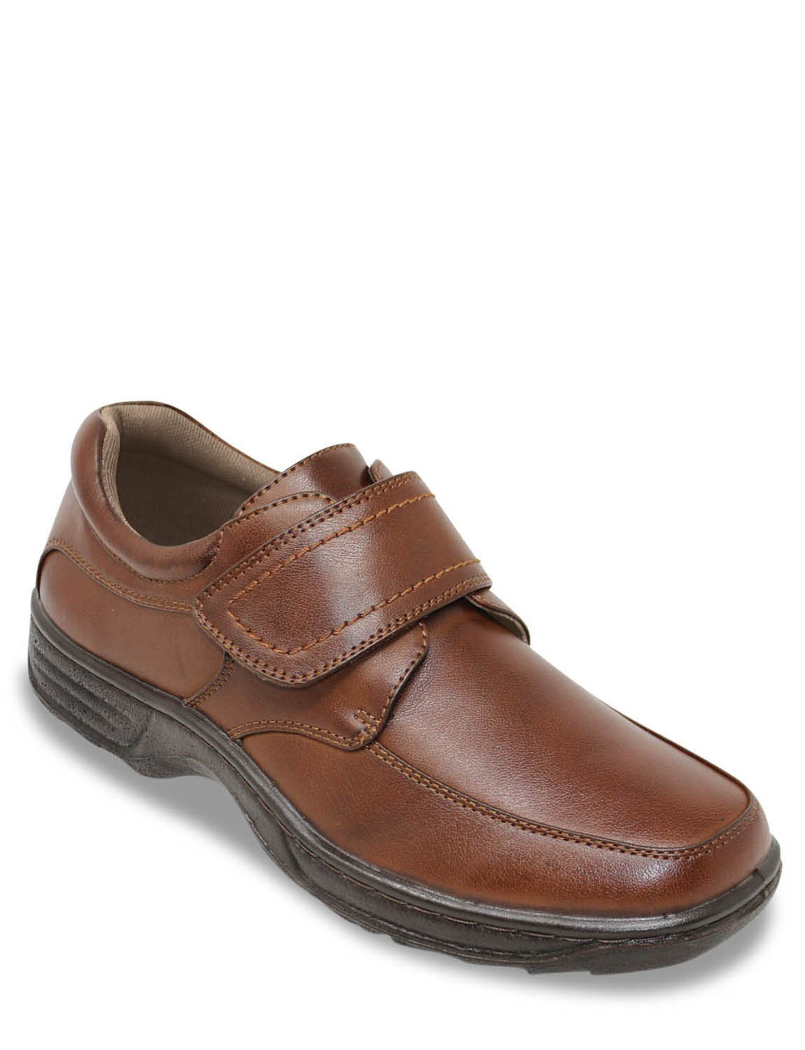 Mens Shoes Single Touch Fastening