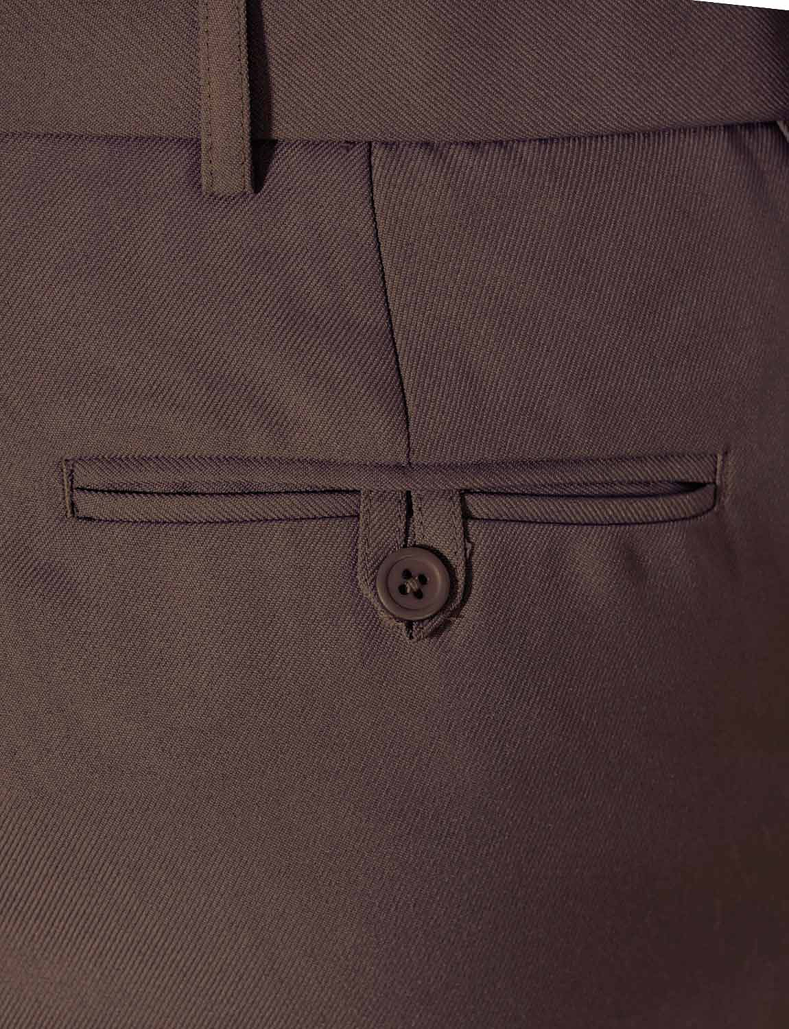 Mens-Stretch-Waist-Formal-Smart-Work-Trouser-Pants thumbnail 9