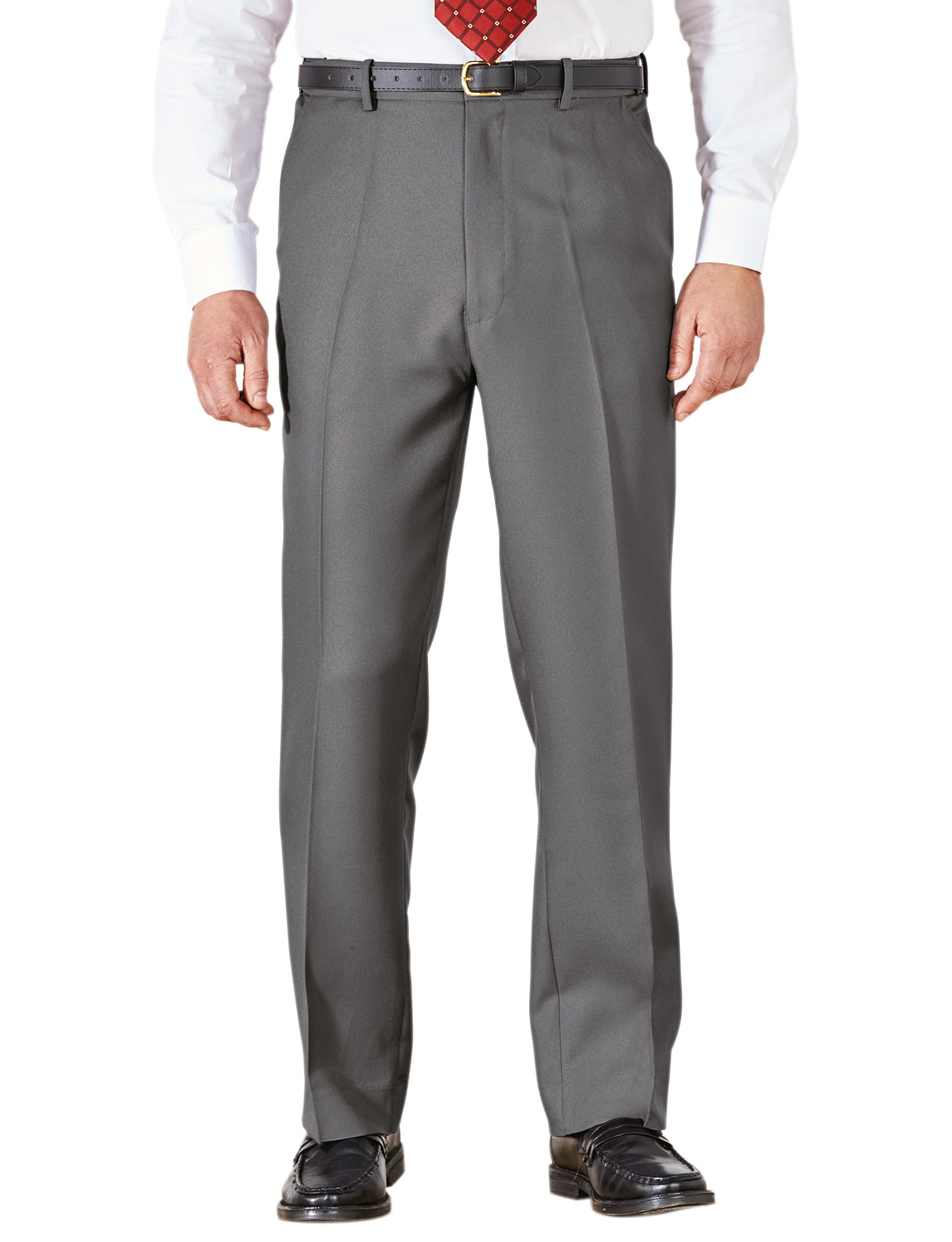 Mens-Stretch-Waist-Formal-Smart-Work-Trouser-Pants thumbnail 10