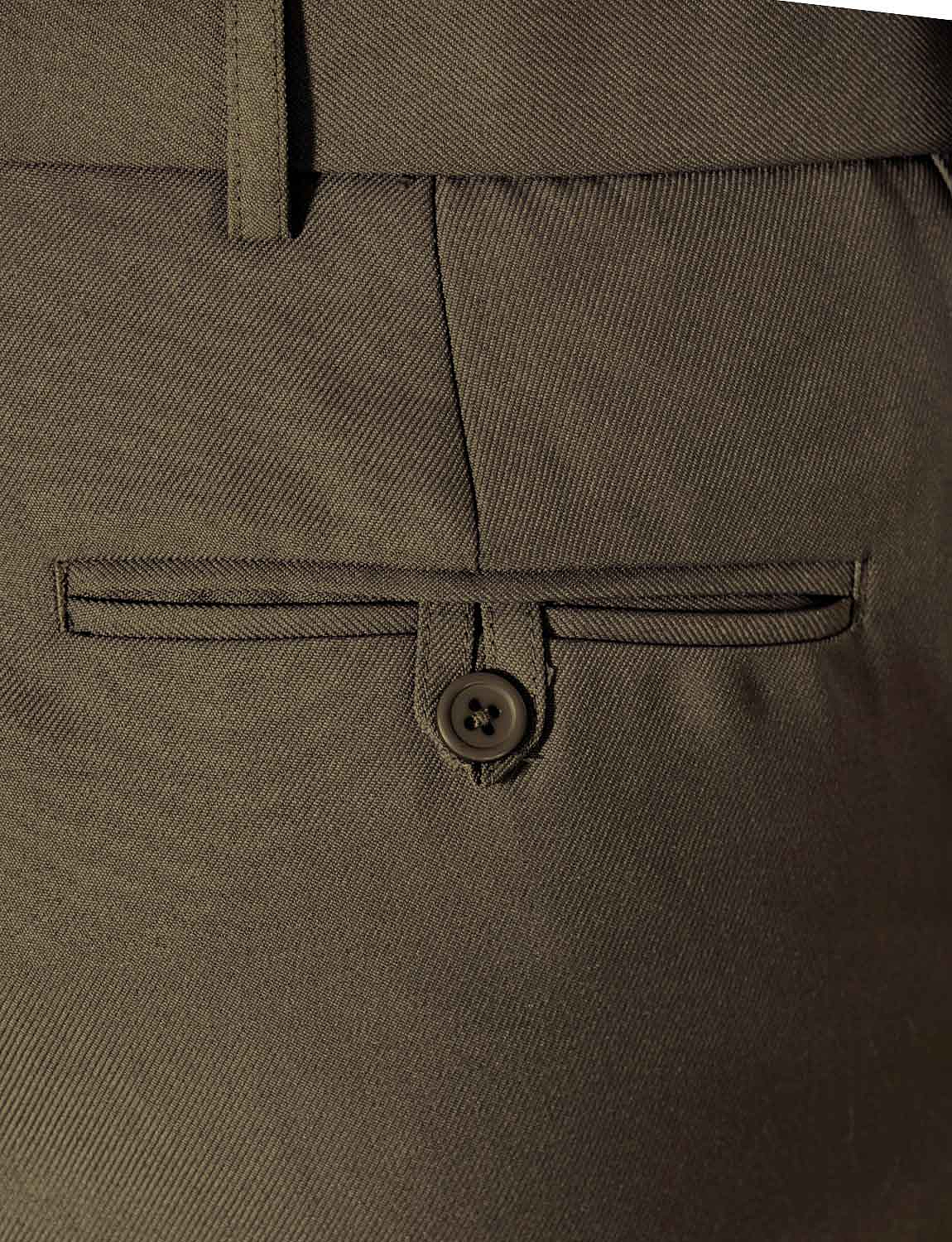 Mens-Stretch-Waist-Formal-Smart-Work-Trouser-Pants thumbnail 15