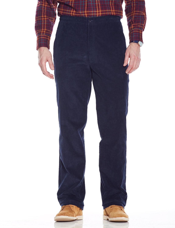 Pantalon Doublure Pour Avec Homme En Velours Côtelé Polaire rPqr8I