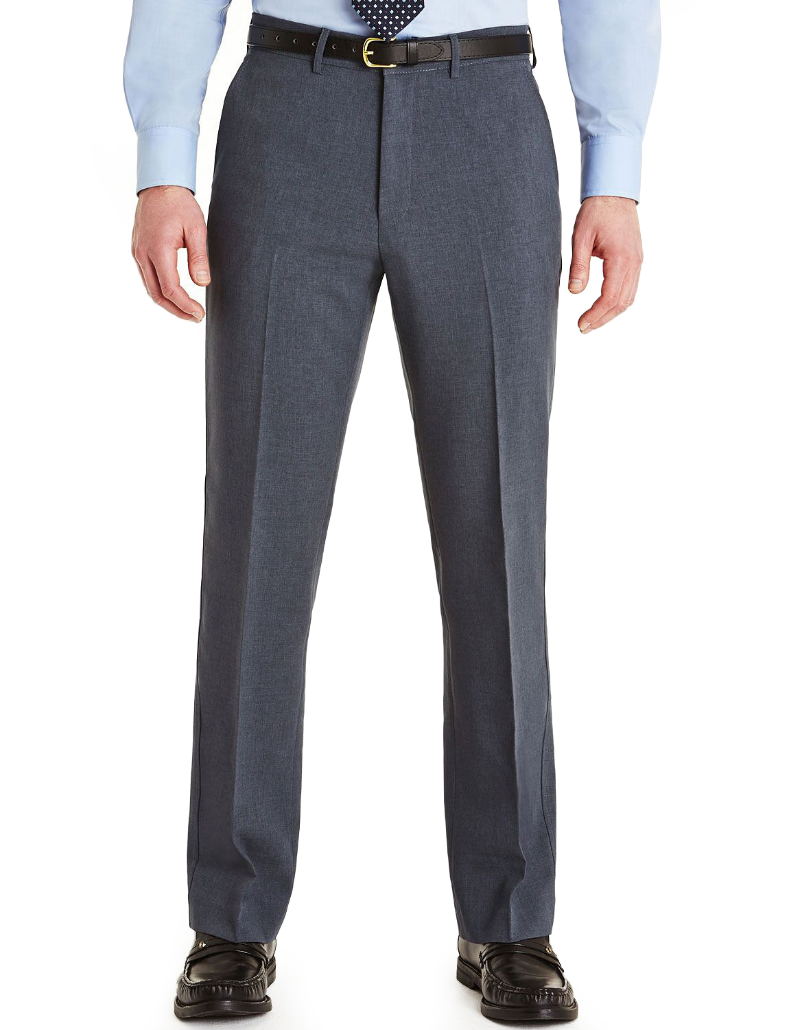 Mens-Farah-Slant-Pocket-Formal-Classic-Trouser-Pants thumbnail 2