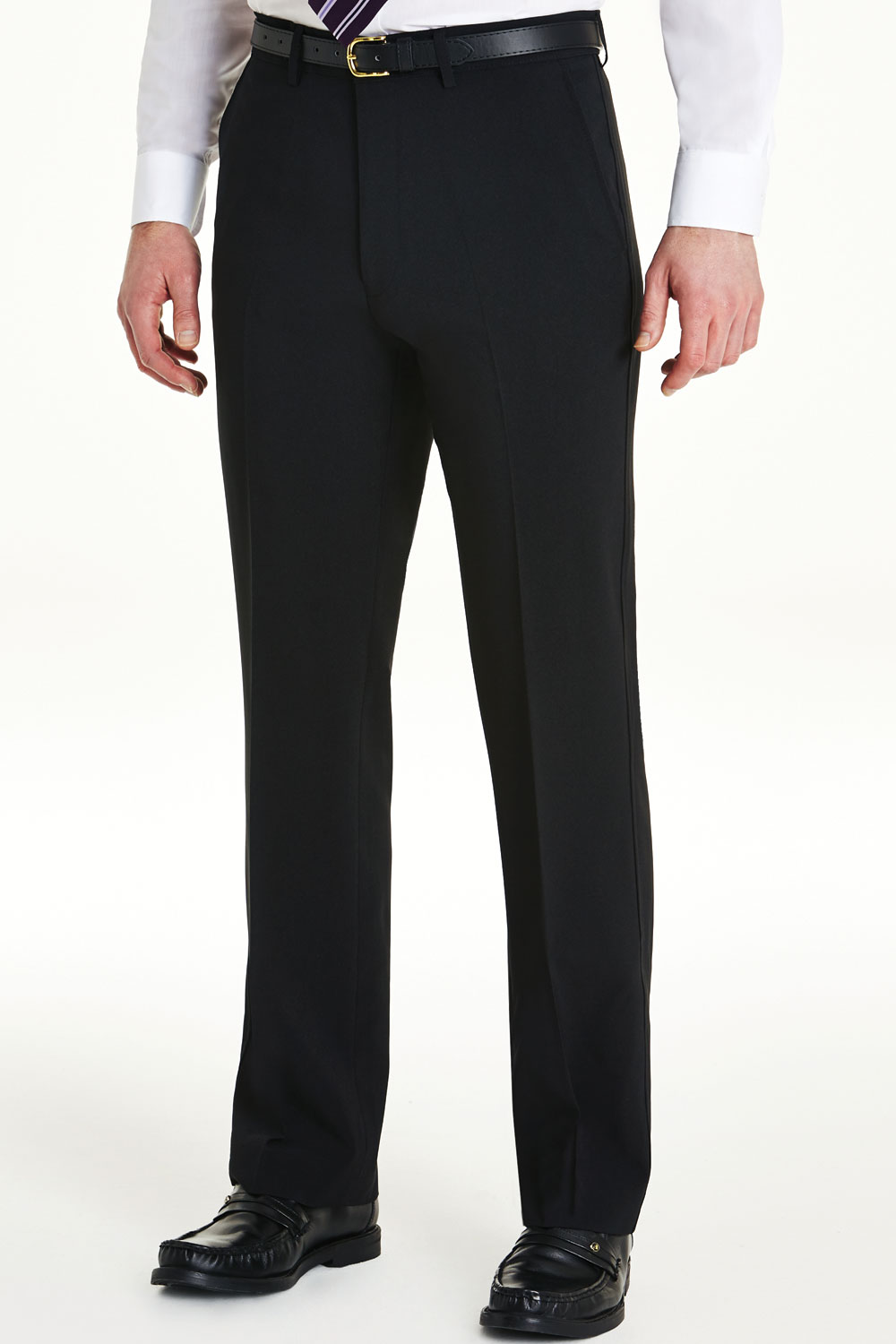 Mens-Farah-Slant-Pocket-Formal-Classic-Trouser-Pants thumbnail 15