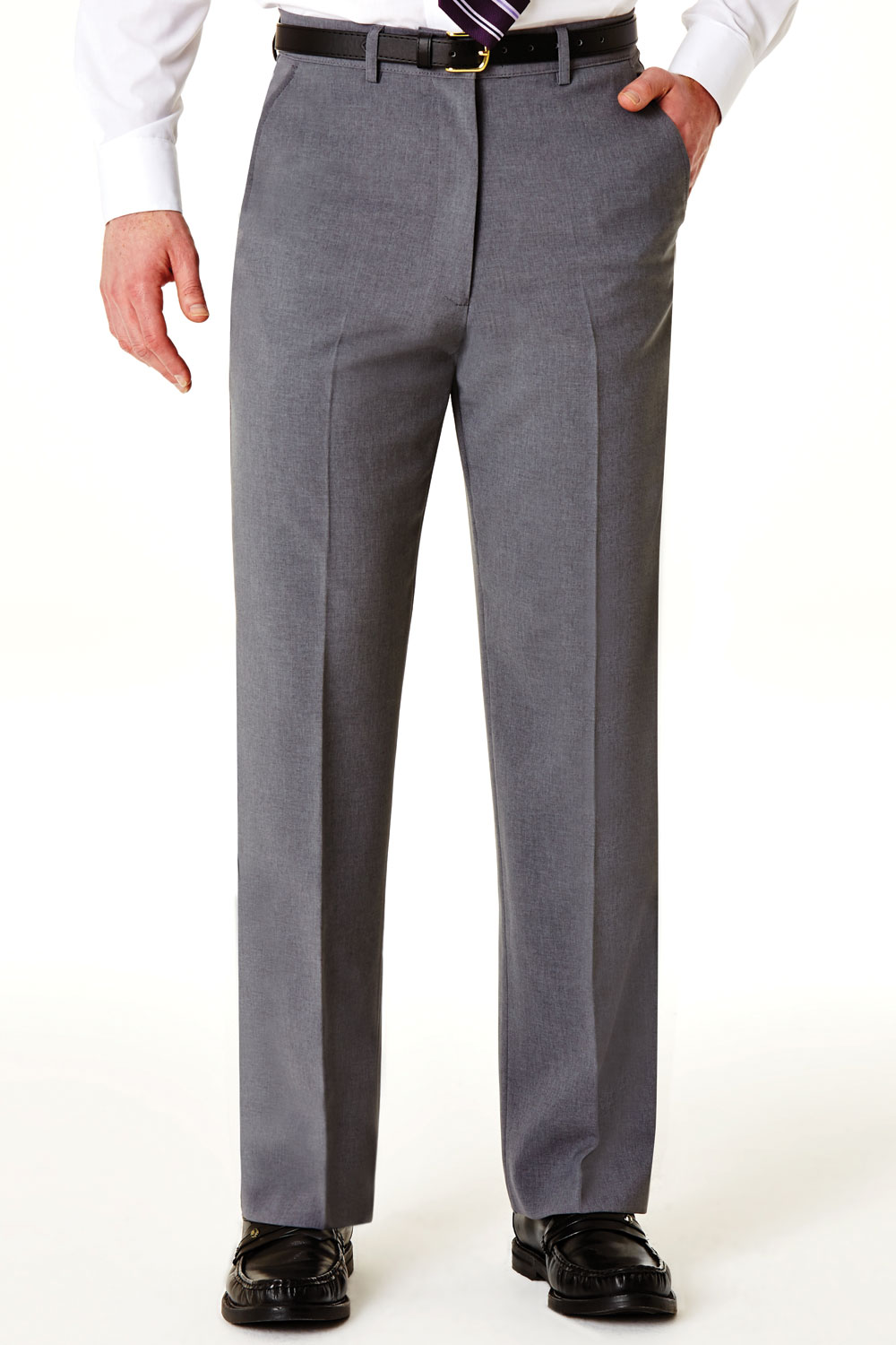 Mens-Farah-Slant-Pocket-Formal-Classic-Trouser-Pants thumbnail 20