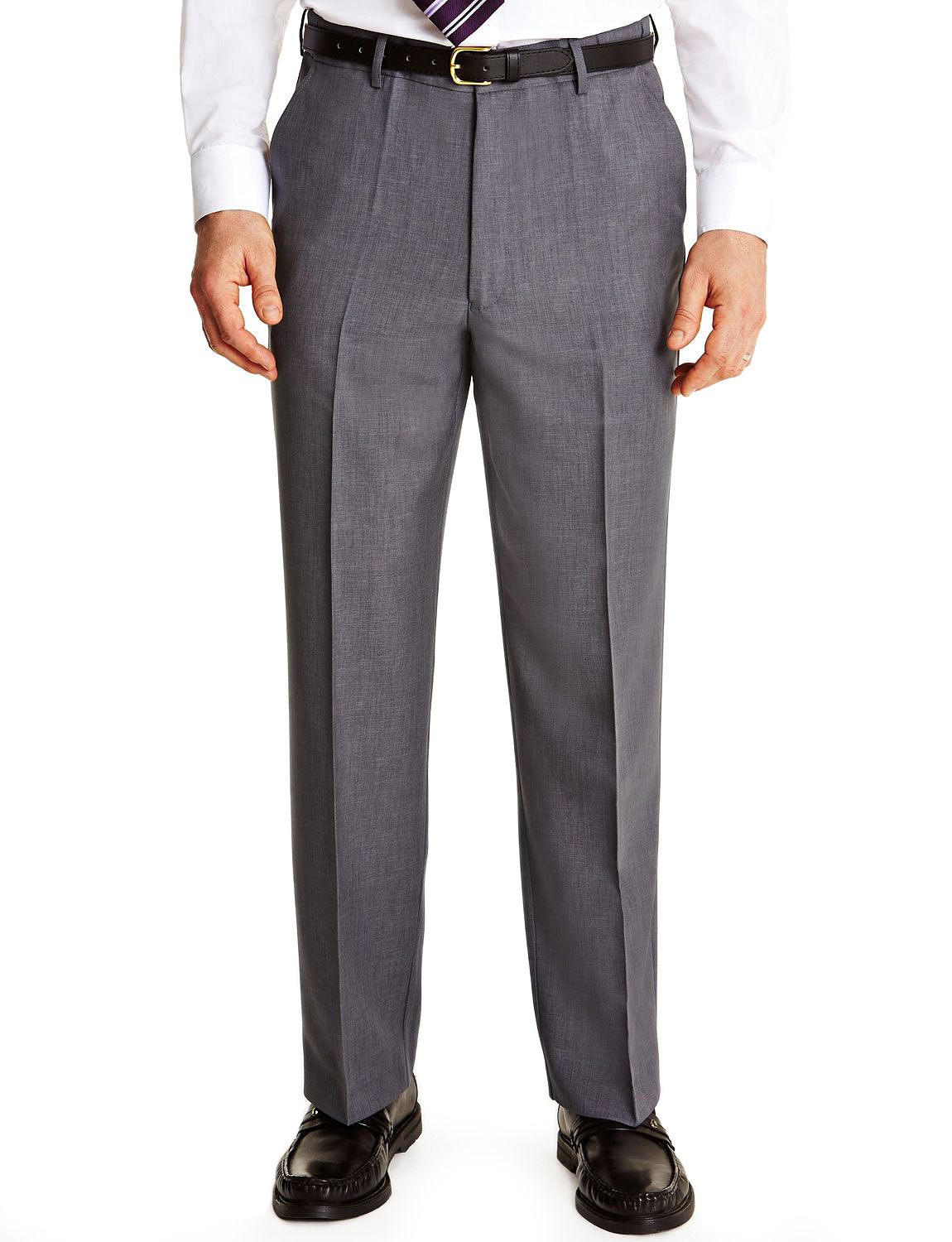 Mens-Farah-Flex-Trouser-Pants-With-Self-Adjusting-Waistband thumbnail 4
