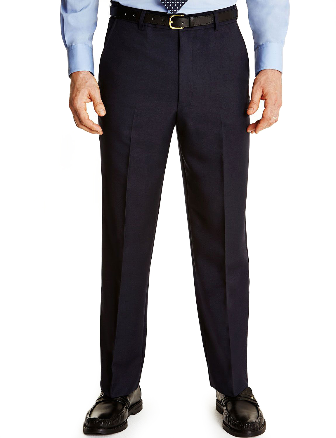 Mens-Farah-Flex-Trouser-Pants-With-Self-Adjusting-Waistband thumbnail 5