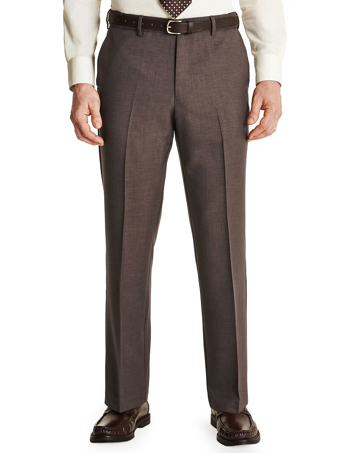 Mens-Farah-Flex-Trouser-Pants-With-Self-Adjusting-Waistband thumbnail 7