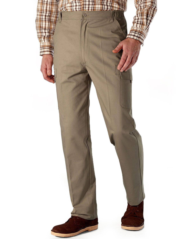 Pantalon Cargo Cargo Pantalon Coton à Taille élastique Pour Homme e9250b